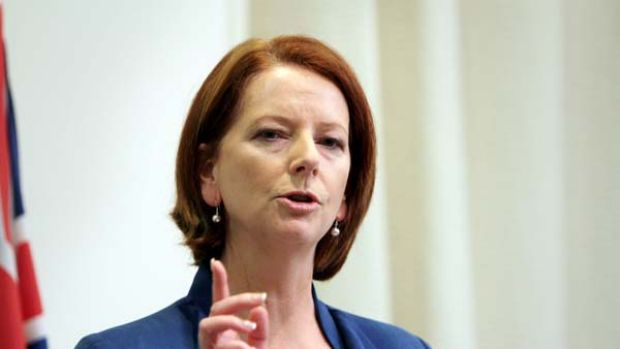 Prime Minister Julia Gillard ... the levy will be imposed for one year.