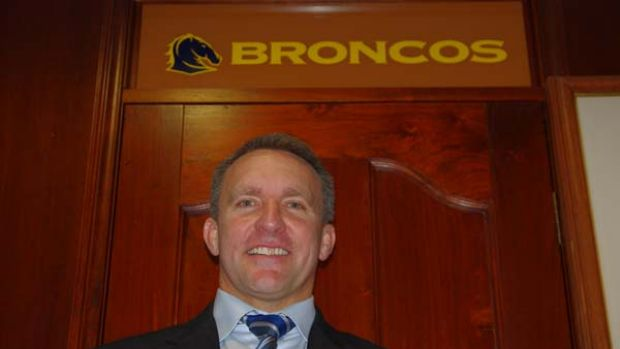 Newly appointed Brisbane Broncos CEO Paul White.