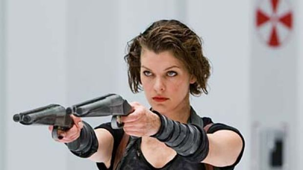 Action figure ... Milla Jovovich in Resident Evil: Afterlife.
