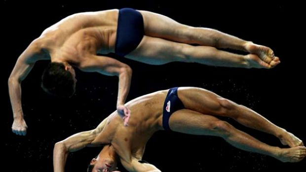 Synchronised diving: not just an Olympic sport.