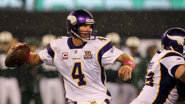 Accused . . . Minnesota Vikings quarterback Brett Favre allegedly sent an inappropriate photo to sports reporter and ...