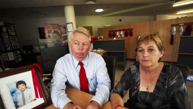 Daniel's parents, Bruce and Denise.