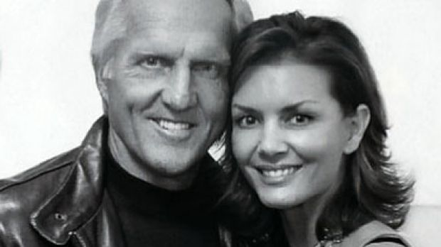 Portrait of love ... Greg Norman and Kirsten Kutner pose for New Idea.