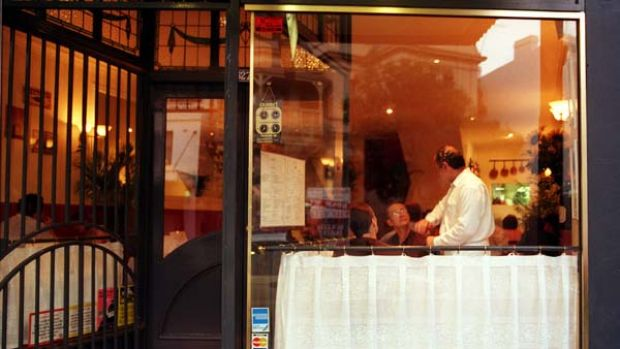 Tabou in Surry Hills ... from Sunday to Thursday you can BYO.