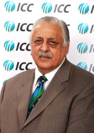 Chairman of the Pakistan Cricket Board Ijaz Butt.