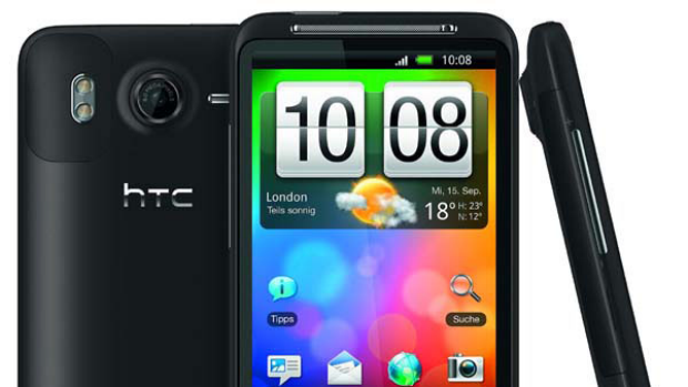 Available early next month ... HTC Desire HD.