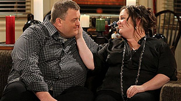 A scene from US sitcom Mike & Molly.