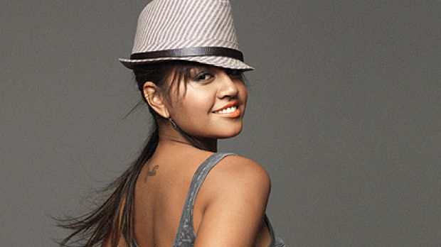 Just look at me now ... Jessica Mauboy.
