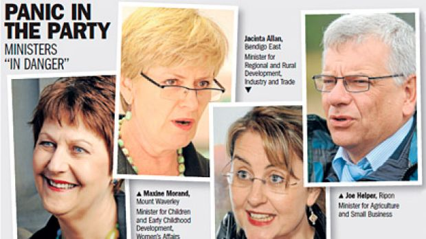 "<b>OTHER LABOR MPs ON THE ""CRITICAL"" LIST:</b> Tony Lupton (Prahran), Kirstie Marshall (Forest Hill), Tammy Lobato ..."