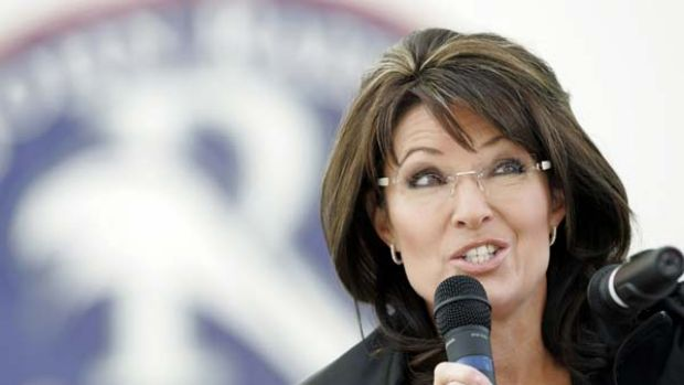 Former vice-presidential candidate Sarah Palin.