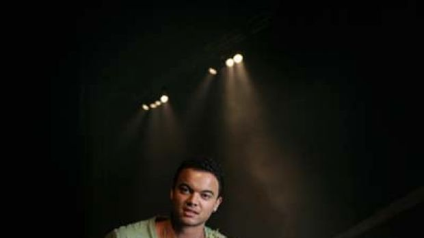 Going for a song ... Guy Sebastian performed before the ARIA awards.