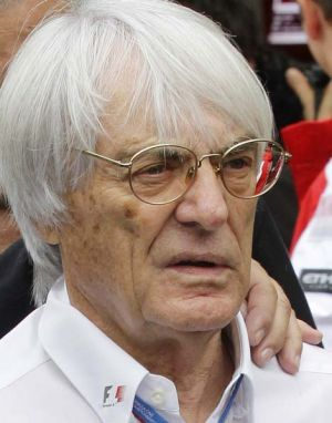 "Bernie Ecclestone, ... implied Jenson Button was ""not too bright""."