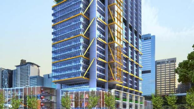 'Articulated' . . . Lend Lease has released the first drawings  of Lord Richard Rogers's design for the main tower at ...