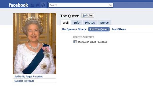 The Queen has joined Facebook. but don't hold your breath for the drunken antics photos. Her Majesty is not like the ...