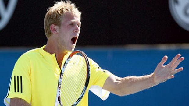 Brydan Klein has copped the wrath of Tennis Australia for his on-court indiscretions.
