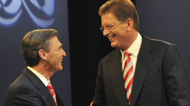 John Brumby and Ted Baillieu.