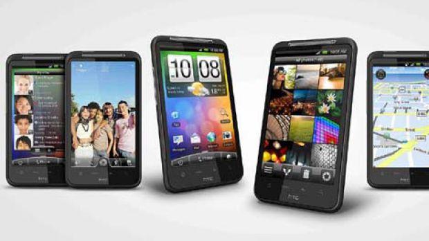 Giant screen, poor battery ... HTC Desire HD