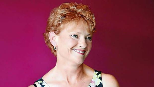She's back... Pauline Hanson is aiming for a spot in the NSW Upper House.