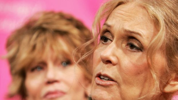 Double-bind ... Gloria Steinem advises women against striving for perfection.