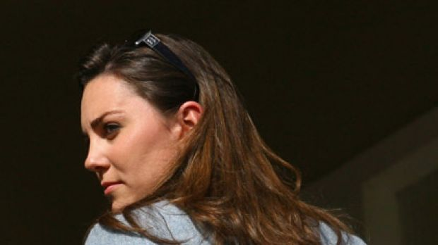 Crowning glory ... long, lustrous locks round out Kate Middleton's natural beauty.