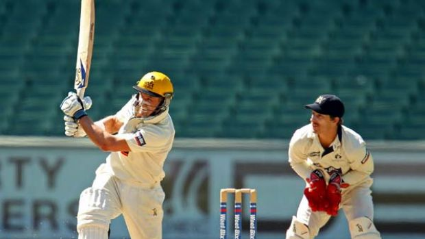 Michael Hussey of the Warriors scored 118 today.