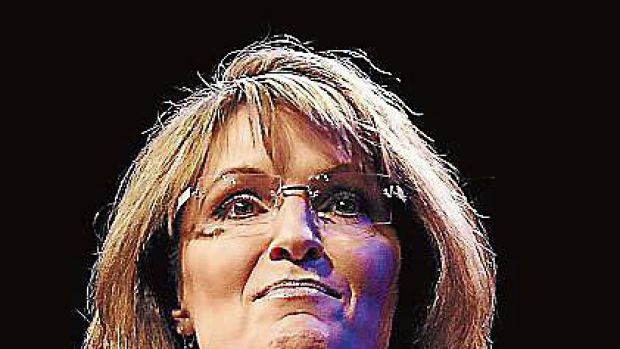 Sarah Palin... launches her second book with a bang.