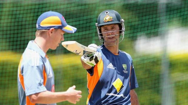 Pitch it there . . . Ricky Ponting can expect plenty of bouncers as England's bowlers try to tempt him into hooking, ...