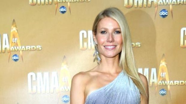 What nine kilos? ... Gwyneth Paltrow at this month's Country Music Awards in Nashville.