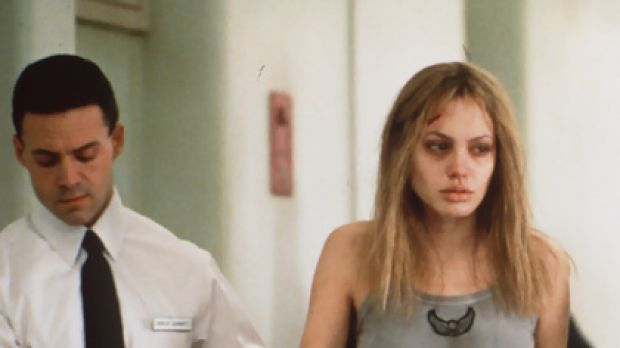 Breakout role ... Angelina Jolie in Girl Interrupted.