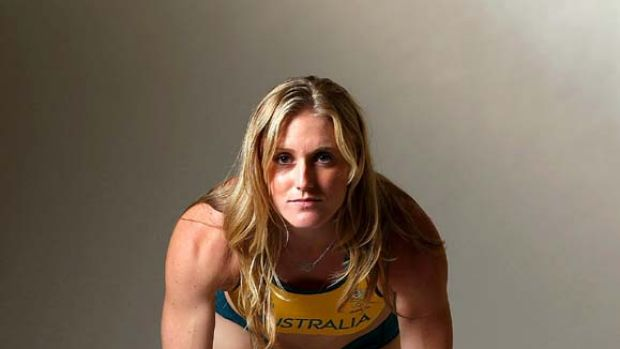 Preparing for the world championships in South Korea next year ... Sally Pearson.
