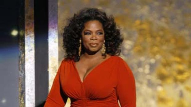 Bound for Down Under ... Oprah Winfrey, whose show is seen by more than 40 million people in the US each week.