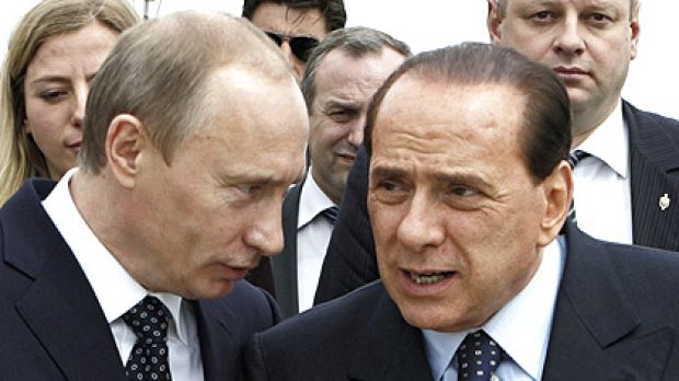 Vladimir Putin (left) and Silvio Berlusconi have a lot in common, according to the latest release of American diplomatic ...