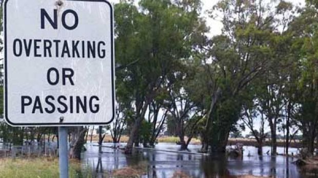 Readers Anthony and Leanne Parsons took this picture in Shepparton today.