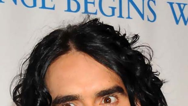 Russell Brand ... says meditation is no joke.