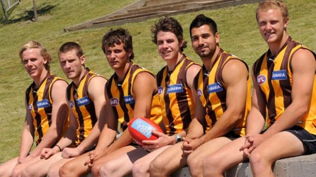 Hawthorn's 2010 draft pics and NSW scholarship program players . Will Langford, Mitch Hallahan, Angus Litherland, Isaac ...