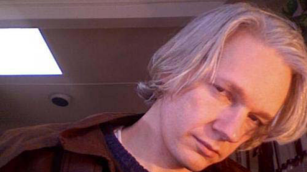 A picture posted on Julian Assange's OkCupid profile.