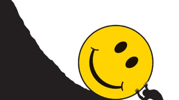 Positive thinking may not be the solution to all your workplace ills. Illustration: Patterson Clark/ Washington Post.