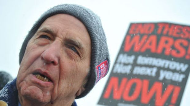 Arrested ... Daniel Ellsberg, the activist who leaked the Pentagon Papers on the Vietnam War in 1971. He  defended ...
