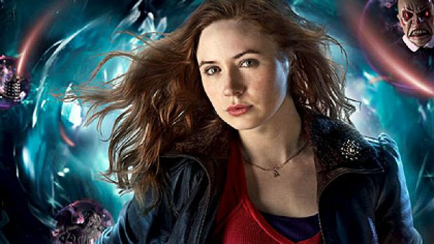 Karen Gillan, who plays Doctor Who's latest companion Amy, will be watching the Yuletide offering at home with her ...