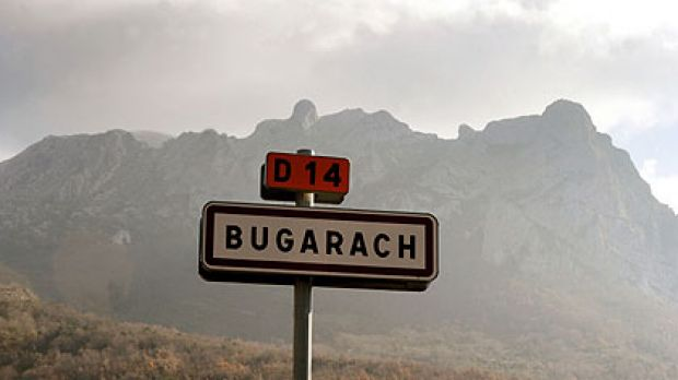 """The peak of the problem ... the """"alien garage"""" at Bugarach."""