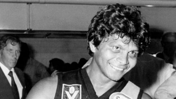 Maurice Rioli during his VFL playing days with Richmond.