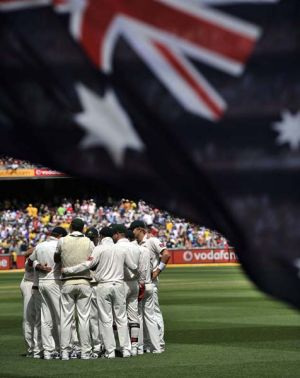 Australia regroup after being bowled out for 98.