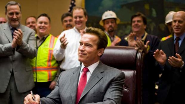 Is the Oval Office next for Arnold Schwarzenegger?