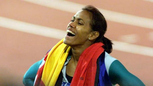 """""""The greatest Olympic Games ever"""" ... Cathy Freeman in Sydney."""