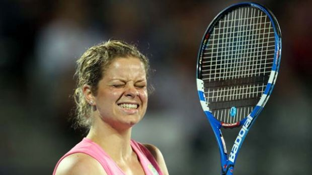Out of action ... Kim Clijsters has withdrawn from Wimbledon.