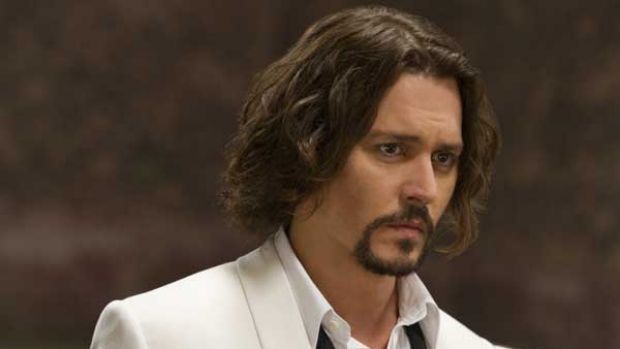 Johnny Depp in <i>The Tourist</i>.