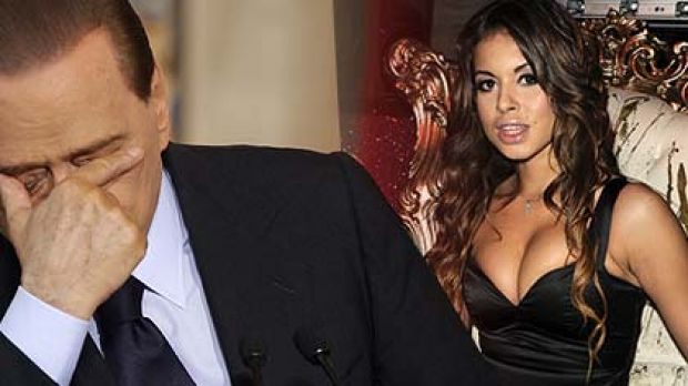 "Silvio Berlusconi and ""Ruby Heartstealer""."