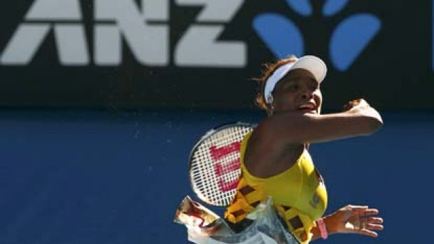Venus Williams wore flesh-coloured underwear.