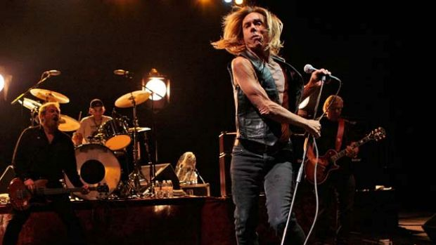 With their iconic frontman leading the charge, Iggy and  the Stooges wow the crowd at the HMV Hammersmith Apollo in ...