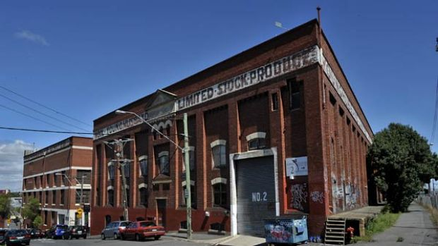 The YoungHusband warehouse in Kensington now houses artist studios.